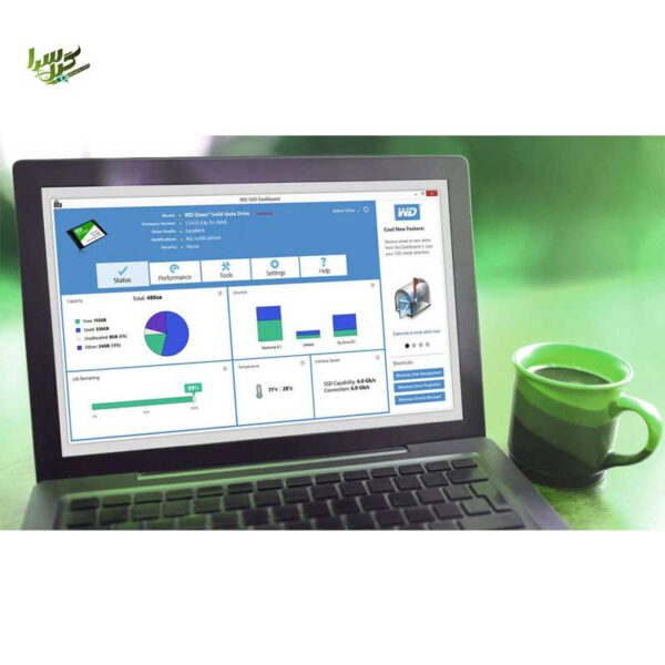 WD Green 3D NAND 120GB PC SSD WDS120G2G0A